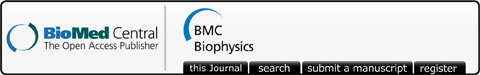 Logo of bmcbiophys