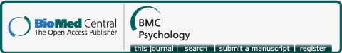 Logo of bmcpsychol
